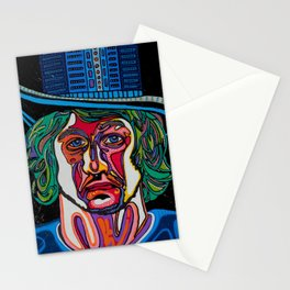 laurence the magician Stationery Cards