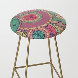 Mandala Bar Stool