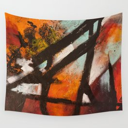 Tourist Attractions Wall Tapestry