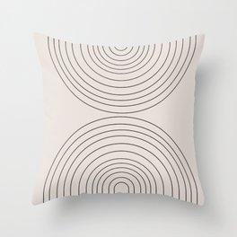 Arch Art Throw Pillow