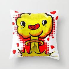 War Is Love Throw Pillow