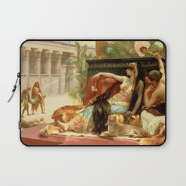 "Alexandre Cabanel ""Cleopatra Testing Poisons on Condemned Prisoners"" Laptop Sleeve"