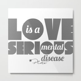 Love - By Plato Metal Print