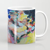 folk Mugs featuring Folk  by Renata Domagalska