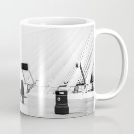 Architecture, Concrete, Modern, Belgium, Railway, station, Train Coffee Mug