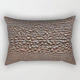 Wood Paint Bubbles Rectangular Pillow