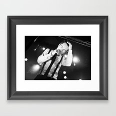Panic At The Disco - Brendon Urie Framed Art Print