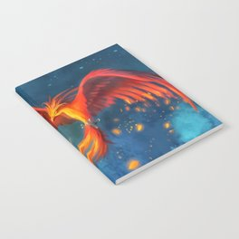 Beautiful phoenix Notebook