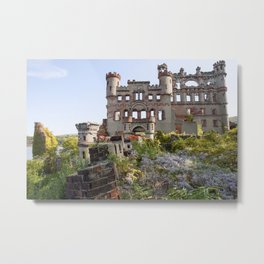 Castle on the hill Metal Print