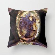 Metalwork II Throw Pillow