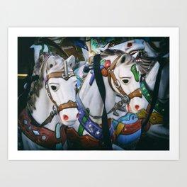 Carousel Two Art Print