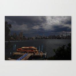 Stormy Sydney Harbour Canvas Print
