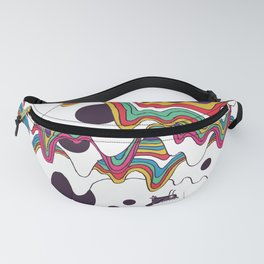 Psychedelic Planet Fanny Pack