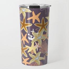 Starfish Bling Diamond in the Sea Travel Mug