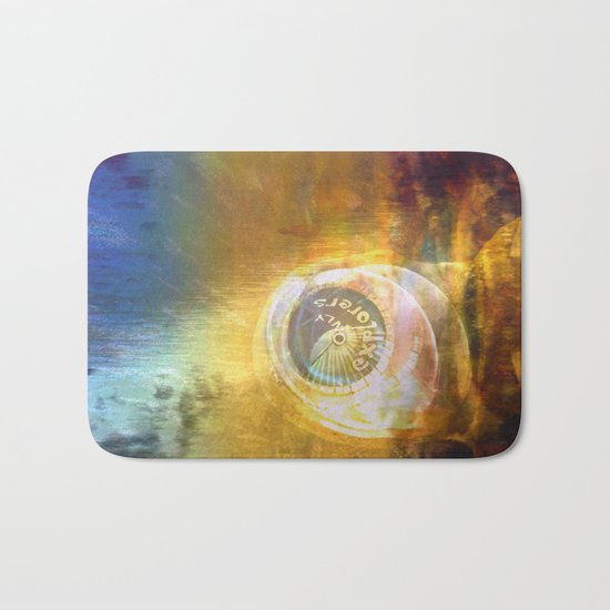 EXPLORERS ONLY / The Biggest Spatial Eye / 26-08-16 Bath Mat