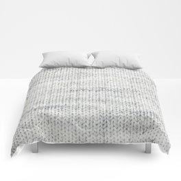 Gray Wool Comforters