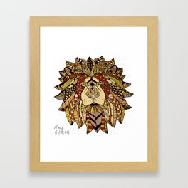 Tribute to Cecil Framed Art Print