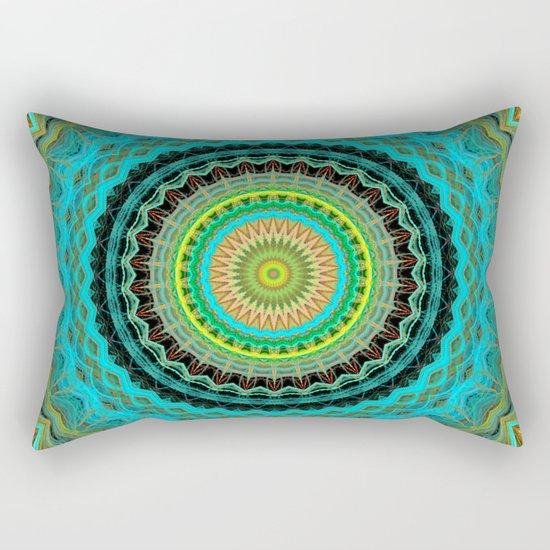 Bliss Mandala Rectangular Pillow