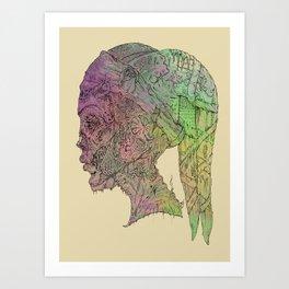 Aayla Secura Art Print