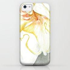 White Orchid Slim Case iPhone 5c