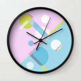 Geometric Calendar - Day 12 Wall Clock