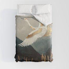 Elegant Flight Duvet Cover