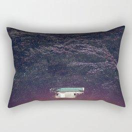 Tea party at 03:00 am Rectangular Pillow