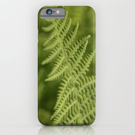Jane's Garden - Fern Fronds iPhone Case