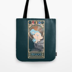 Malta Nouveau -  Sea Prince and the Fire Child Tote Bag