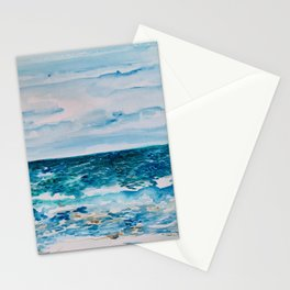 Cabo Beach Mexico Watercolor #1 Stationery Cards
