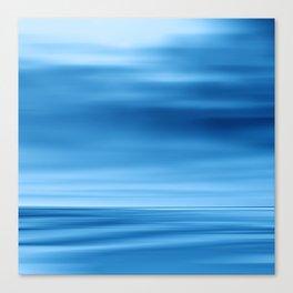 SeascapeBlue - dune Canvas Print