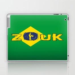 colors of brazil - lets dance brazilian zouk Laptop & iPad Skin
