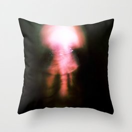 Kharmic Book Series.; 07.; Face In The Dark.; Adorable Saturnalia.; Love Forever & Infinity. Throw Pillow