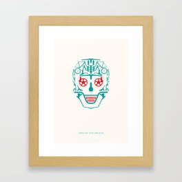 Foolish Cyclobiker Framed Art Print