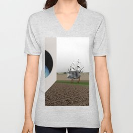 the truth is dead · expansion X Unisex V-Neck
