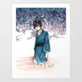 Gray Fullbuster Tanabata Art Print
