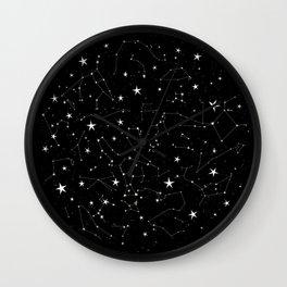 Constellations Wall Clock