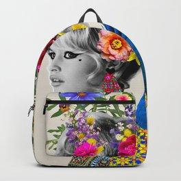 Brigitte flowers Backpack