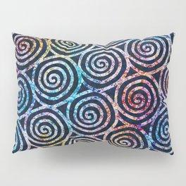 Spiral Tie Dye Batik Pillow Sham