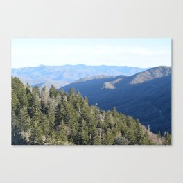 Rise up, oh mountain! Canvas Print