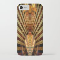 predator iPhone & iPod Cases featuring Predator by Robin Curtiss