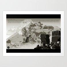 Parasomnia 04 n&b Art Print