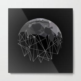 Moon Beams Metal Print