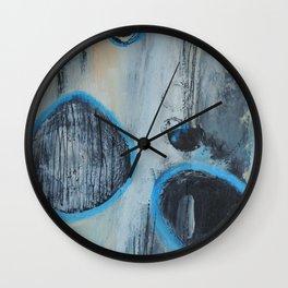 Blue Amnesia Wall Clock