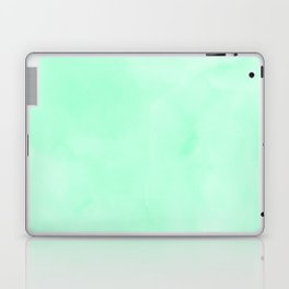Mint Meringue Watercolor Laptop & iPad Skin