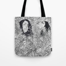 let's meet at Springtime Tote Bag