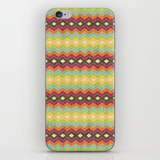Chevron norvehC iPhone & iPod Skin