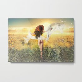 Summer Gift V Metal Print