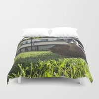 ducks Duvet Covers featuring Ducks by Nova Jarvis