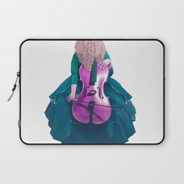 Forest Green Cellist II Laptop Sleeve